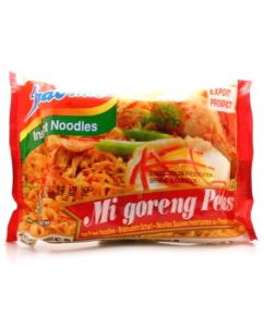 FULL CASE Indomie Mi Goreng Pedas Hot & Spicy Instant Noodles | Buy Online at the Asian Cookshop